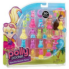 Polly Pocket Sparkle Beach Party Play Set (k told me she wanted this today haha.. for her birthday)