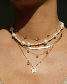KOZAKH Jewelry | Demi-fine jewelry handmade in the US. 14k Gold Jewelry, Fine Jewelry, Gold Beads, Jewelry Branding, Necklace Lengths, Solid Gold, Handmade Jewelry, Fashion Jewelry, Jewelry Design