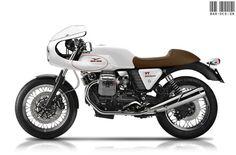 Bardesign Moto Guzzi V7 Café Sport concept