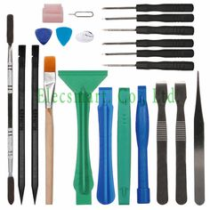 Find More Hand Tool Sets Information about 22 In 1 Multi Tool Kit Screwdrivers Plastic Prying Metal Spudger Brush Picks for iPhone Tablet Smart Phone Mobile Repair Tool,High Quality tool bad,China set bracket Suppliers, Cheap tool set for car from Elecsmart Co., Ltd. on Aliexpress.com