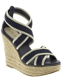 Too cute wedges - and they're on sale!