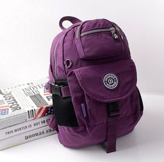 NICE Fashion Design Top-Quality Nylon Backpack 16 Colors/Patterns