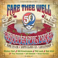 Grateful Dead's Core Four Announce West Coast Fare Thee Well Shows : News : Relix