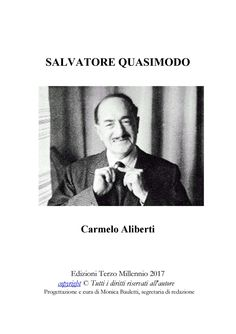Salvatore Quasimodo di Carmelo Aliberti