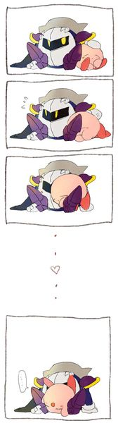 Pffftt haha! You would Kirby! So cute ♡♡♡