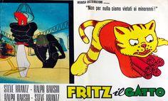 Fotobusta di 'Fritz il gatto'
