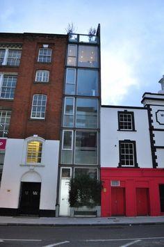use architects london hagan Architects London, Garage Doors, Multi Story Building, Lane, Exterior, Mille, Outdoor Decor, Design, Home Decor