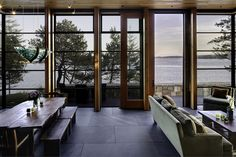 Green Roof House Design San Juan Island |Natural Modern Architecture Firm