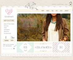 Custom Website Layout Design - Design Garden