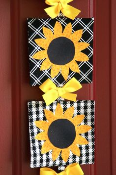 Sunflowers for autumn. Fall banner fall decoration sunflower decoration bloom by eljahb, $28.00