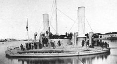 """""""Novgorod (Russian: Новгород) was a monitor built for the Imperial Russian Navy in the 1870s. She was one of the most unusual warships ever constructed, ..."""