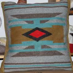 Geometry 2 grey olive turquoise
