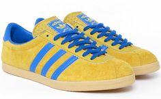 adidas London (Sunshine Yellow / Bluebird) Malmö Edition. Release: 2011. #adidasoriginals #adidaslondon