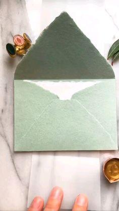 Crafts To Do, Home Crafts, Arts And Crafts, Paper Crafts, Envelopes, Pen Pal Letters, Envelope Art, Mail Art, Diy Cards