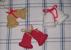 Posts about free christmas knitting patterns written by knittinggalore Christmas Tree Knitting Pattern, Knit Christmas Ornaments, Christmas Bells, Christmas Crafts, Christmas Ideas, Crochet Christmas, Crochet Ornaments, Crochet Snowflakes, Christmas Angels