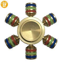 GUT® Spezieller Entwurf Finger Spinner Desk Gift 6-Stand - Fidget spinner (*Partner-Link)
