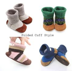 Baby Toddler slipper Felted wool slippers Ankle boots Baby