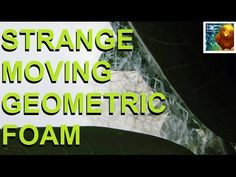 Strange Moving Geometric Foam