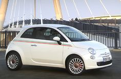 I want a white Fiat. Nothing classier than a *clean* white car.