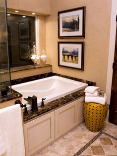 Tuscan Bathrooms from Thom Oppelt : Designers' Portfolio 4275 : Home & Garden Television#/id-4225/room-bathrooms