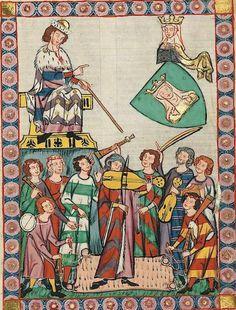 MEISTER HEINRICH FRAUENLOB  Heinrich Frauenlob, también conocido como Enrique de Meissen (Heinrich von Meissen) fue un poeta alemán nacido entre 1250[1] y 1260 y fallecido el 29 de noviembre de 1318. Nacido en Meissen, el apodo Frauenlob parece significar alabanza de la mujer o alabanza de la Virgen.  Tenía gran talento musical, y ocupó cargos en la corte de Praga. Fue fundador de la más antigua Escuela en Maguncia durante el primer cuarto del siglo XIV.[2] Alrededor de 1290 escribió…