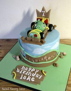 Angry Birds GO cake - Cake by Rachel Manning Cakes - CakesDecor