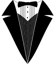 Black and White Tuxedo T-Shirt