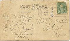 1921 Postcard ~ Bnspyrd on DeviantArt