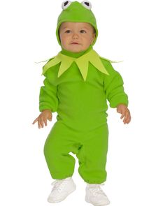The Muppets Kermit Baby Romper