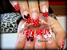 micky mouse by simonaleucht - Nail Art Gallery nailartgallery.nailsmag.com by Nails Magazine www.nailsmag.com #nailart