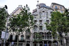 Apartment Building Facade Barcelona