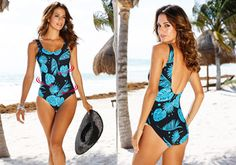 Tankini, One Piece, Swimwear, Model, Fashion, Bathing Suits, Moda, Swimsuits
