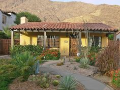 Spanish+Style+Homes | Spanish Revival House - Spanish Style Home in Palm Springs California