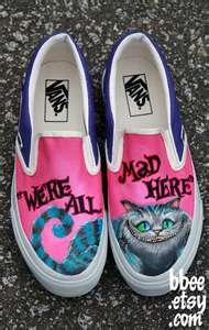 Disney Alice in Wonderland Vans shoes