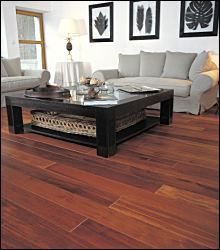 If crystal clear & alluring floorings are what you have always wished to have in your home, then the Solid Merbua Hardwood Floorings supplied by us are actually the ones that can actually serve your purpose. Wooden Floors Living Room, Blue Couch Living Room, Small Living Room Design, Living Room Designs, Parquet Merbau, Design Parquet, Cherry Wood Floors, Rustic Stairs, Red Floor