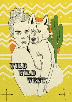 Wild wild west by Magdalena Pankiewicz, via Flickr