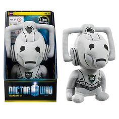 Doctor Who Cyberman Medium Sized Talking Plush    http://www.entertainmentearth.com/prodinfo.asp?number=UT00560JG=LY-012045602