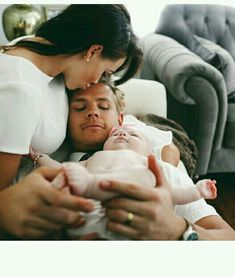 Couple Mom Dad Baby <3 #LOVE #FAMILY