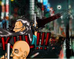 Storyboard Illustration bang bang bang!!!