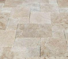 Antique Ivory Travertine Tile for Indoor Patio