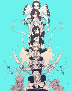 Demon Slayer: Kimetsu No Yaiba manga online Demon Slayer, Slayer Anime, Anime Meme, Dark Fantasy, Manga Art, Anime Art, The Ancient Magus, Anime Lindo, Demon Hunter