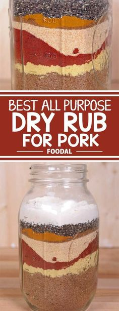 Best All Purpose Dry Rub for Pork Do love the taste of smoked and grilled pork? But yours always turns out dry? The secret to juicy and meaty ribs and Boston butts lies in the perfect dry rub. Pork Dry Rubs, Bbq Dry Rub, Pork Rub, Steak Rubs, Smoker Recipes, Barbecue Recipes, Grilling Recipes, Cooking Recipes, Rib Recipes