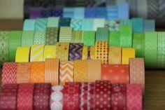 Pick 6 todo rollos que rollos de Washi Tape de su por Loollipop