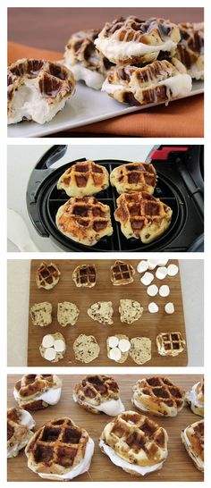 Everybody wants a whole lot of heaven stuffed inside a delicious cinnamon waffle for breakfast.