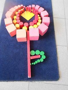 Lente met zintuiglijk materiaal - MontessoriNet