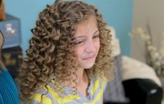 This website has tons of hairstyles for every age girl! Almost all are NO heat!