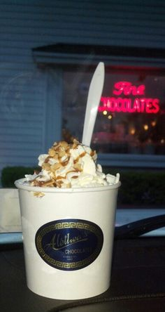 Aletheas chocolates on main near williamsville 6/13