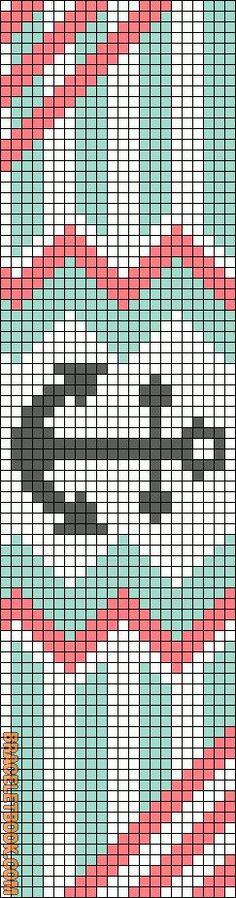 Alpha Friendship Bracelet Pattern #11694 - BraceletBook.com