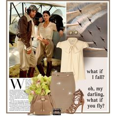 What if I fall? - Oh darling, what if you fly? by anna-survillo on Polyvore featuring Orla Kiely, Blumarine, Schutz, Vince Camuto, Chanel and By Terry