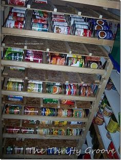 Long Shelf Life Food Pantries
